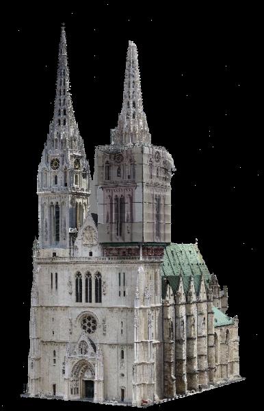 3d skeniranje_Zagrebacka katedrala_1